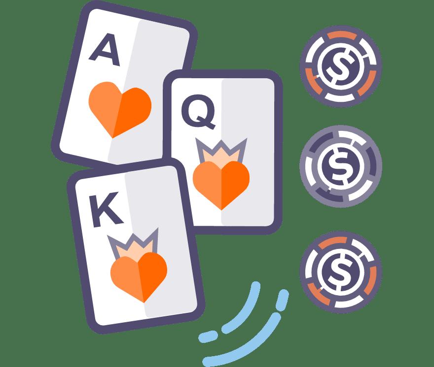 46 Beste Three Card Poker Live Casinos im Jahr 2021