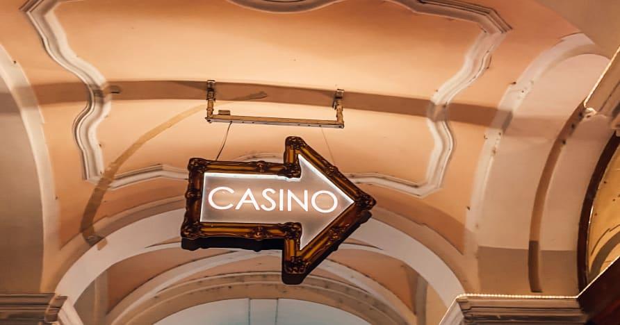 Glücksspiel in einem Live-Casino